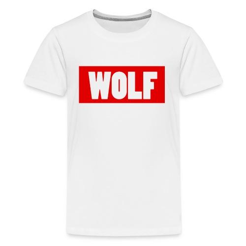 #Wolf - Kids' Premium T-Shirt