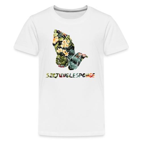 sirjunglesponge floral - Kids' Premium T-Shirt