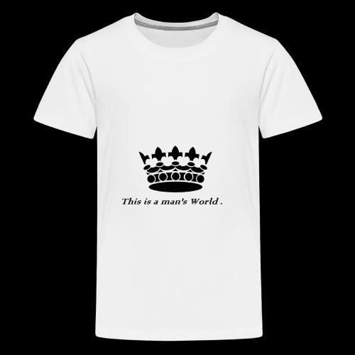 its a crowen - Kids' Premium T-Shirt