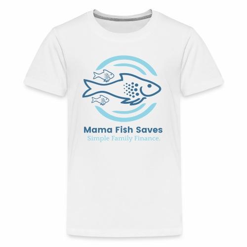Mama Fish Saves Logo Print - Kids' Premium T-Shirt