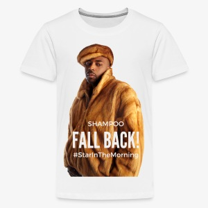 Shampoo Fall Back! - Kids' Premium T-Shirt