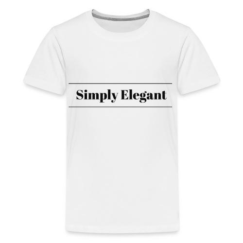 Simply Elegant - Kids' Premium T-Shirt