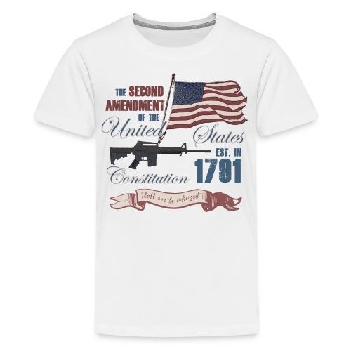 2nd Amendment Est. 1791 - Kids' Premium T-Shirt
