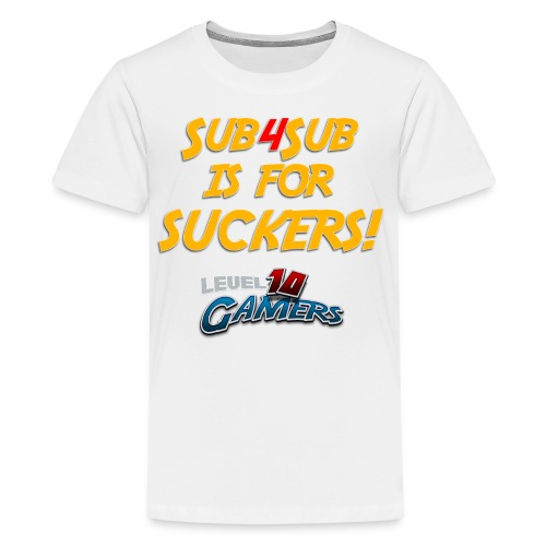 Anti Sub4Sub - Kids' Premium T-Shirt