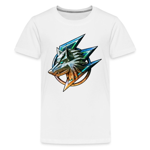 The Gaming Wolf (Official T-Shirt) - Kids' Premium T-Shirt