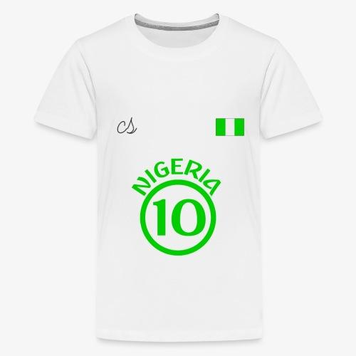 Nigerian Soccer Fan T-Shirt - Kids' Premium T-Shirt