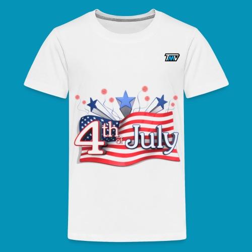 4th of July - Kids' Premium T-Shirt