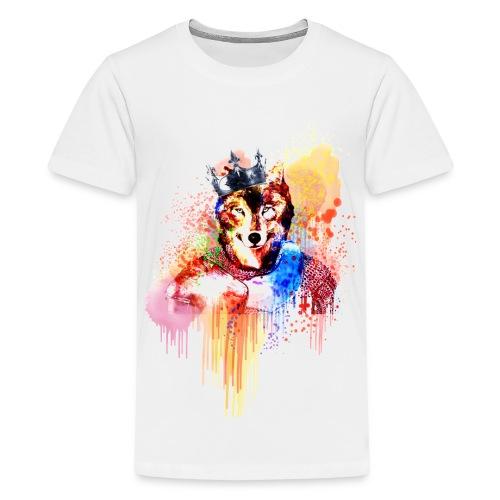 Sir Wolf - Kids' Premium T-Shirt