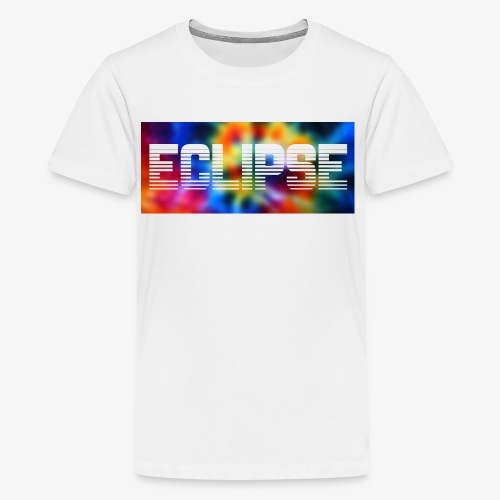 Tie Dye Retro Logo - Kids' Premium T-Shirt