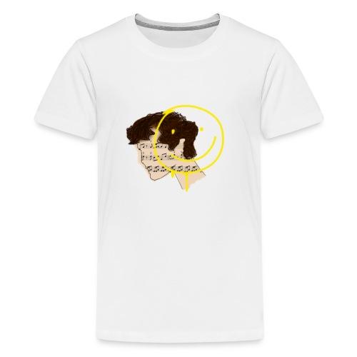 Sherlock fandom aesthetic graphic - Kids' Premium T-Shirt