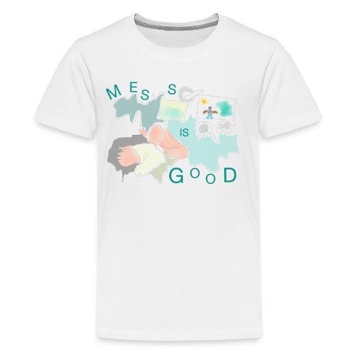 Mess is good - Kids' Premium T-Shirt