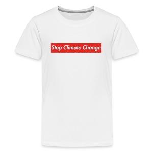 Stop Climate Change - Kids' Premium T-Shirt