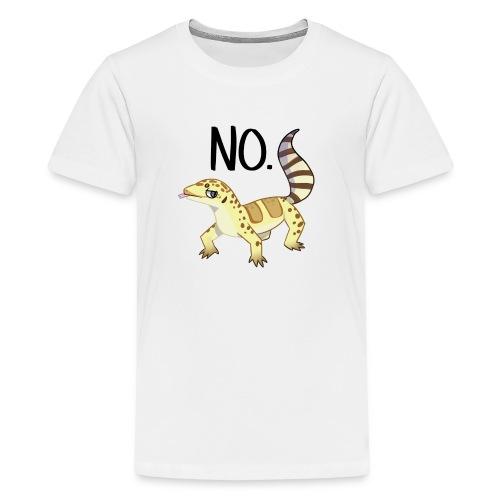 Heck no gecko - Kids' Premium T-Shirt