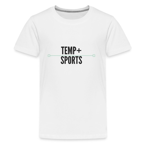 Temperature Plus Black Design - Kids' Premium T-Shirt