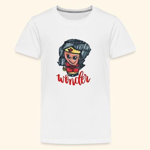 Wonder Hair - Kids' Premium T-Shirt