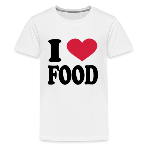i love food - Kids' Premium T-Shirt