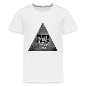 Think Like Chess Logo - Kids' Premium T-Shirt