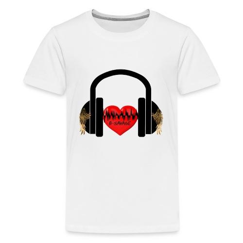 B-Savage Music Official Logo - Kids' Premium T-Shirt