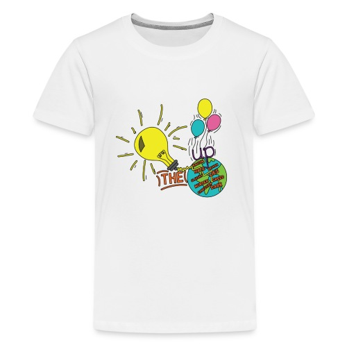 Light Up The World - Kids' Premium T-Shirt