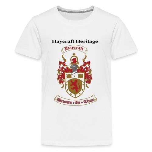 haycraftcrest - Kids' Premium T-Shirt