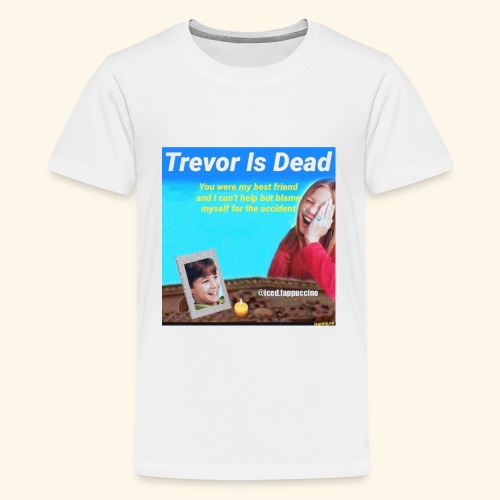 Trevor Is Dead Connect 4 Meme Design - Kids' Premium T-Shirt