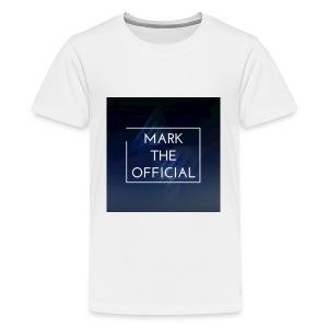Mark the official - Kids' Premium T-Shirt