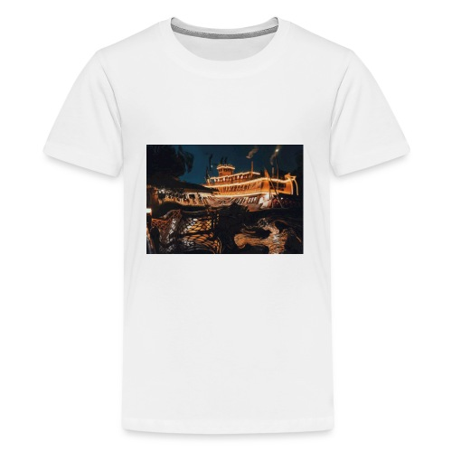 Peaceful Night - Kids' Premium T-Shirt
