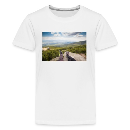 Outdoorsy Life - Kids' Premium T-Shirt