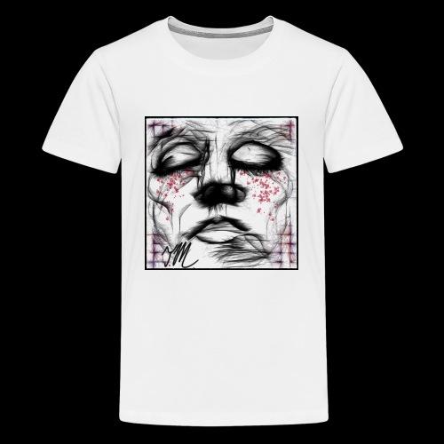 Weeping Man - Kids' Premium T-Shirt