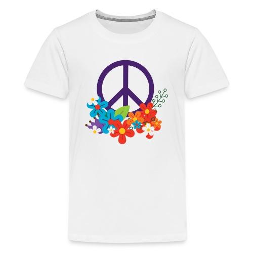 Hippie Peace Design - Kids' Premium T-Shirt