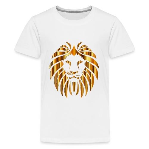 Gold Lion Design - Kids' Premium T-Shirt
