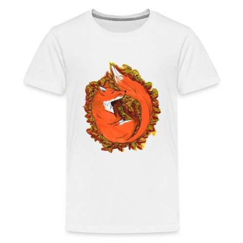 Sleepy fox - Kids' Premium T-Shirt