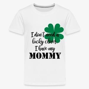 Lucky Clover Mommy - Kids' Premium T-Shirt