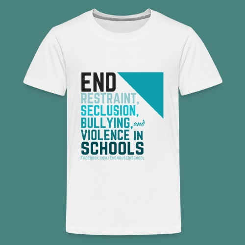 End Abuse in School 2 - Kids' Premium T-Shirt