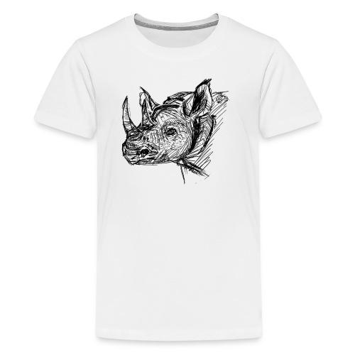 Black Rhino - Kids' Premium T-Shirt