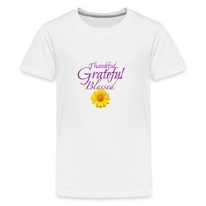 Thankful grateful blessed - Kids' Premium T-Shirt