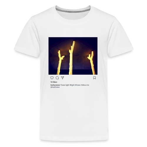 TREE LIGHT - Kids' Premium T-Shirt