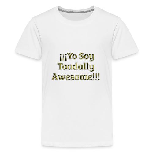 Yo Soy Toadally Awesome - Kids' Premium T-Shirt