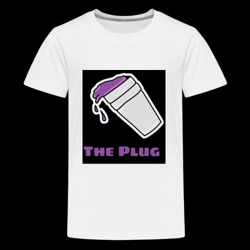 the Plug logo - Kids' Premium T-Shirt