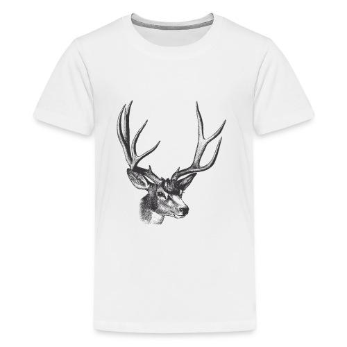 Vintage Deer - Kids' Premium T-Shirt