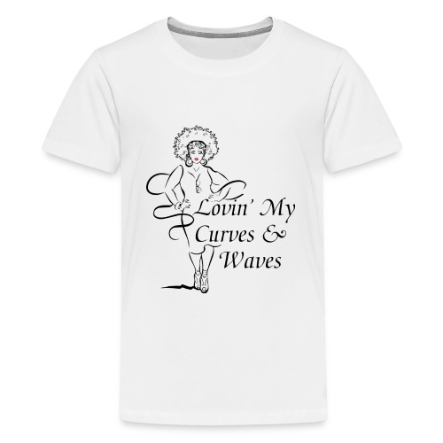 Curves Waves Trans - Kids' Premium T-Shirt