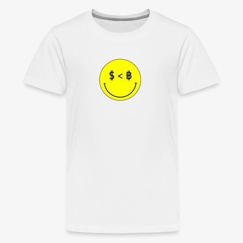 USD vs BTC - Kids' Premium T-Shirt