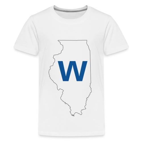 Cubs WIN! - Kids' Premium T-Shirt