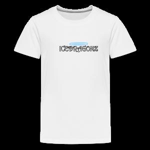 Icedragonz name shirt - Kids' Premium T-Shirt