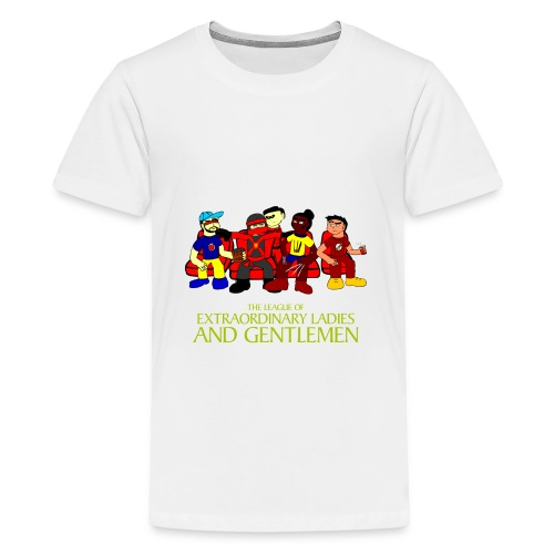 The League of Extraordinary Ladies and Gentlemen - Kids' Premium T-Shirt