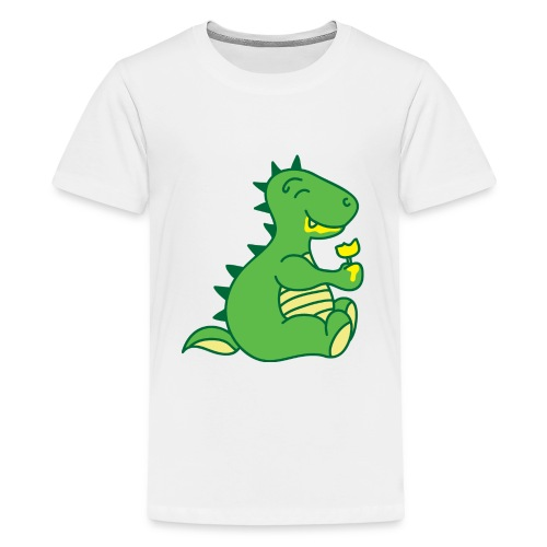 Dinosaurs Love Ice Cream - Kids' Premium T-Shirt