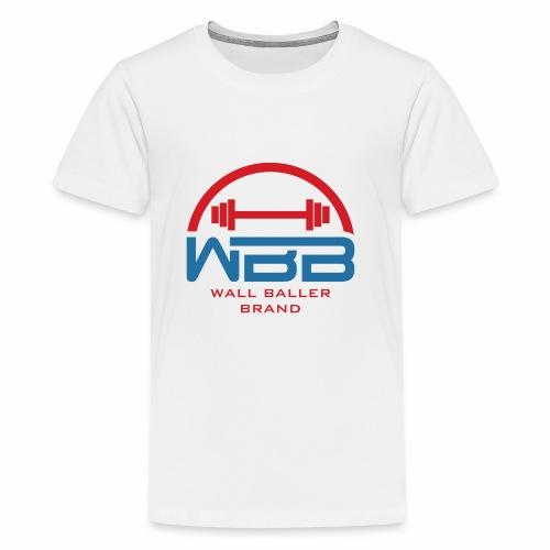 Loaded Barbell Baller - Kids' Premium T-Shirt