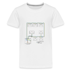 Electrical Circuit - Kids' Premium T-Shirt