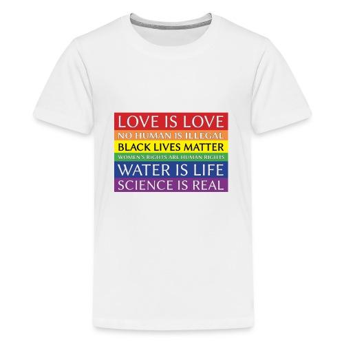 rainbow solidarity - Kids' Premium T-Shirt