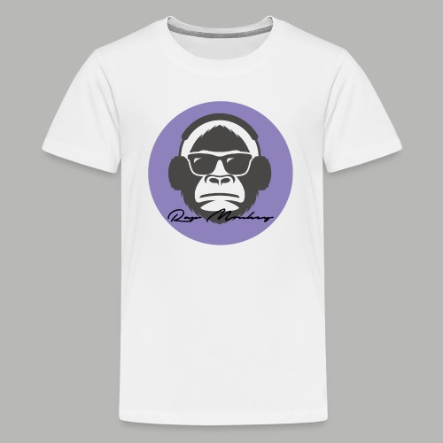Rap monkey(Ape) Men's Premium T-Shirt - Kids' Premium T-Shirt